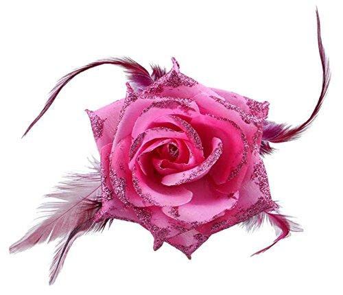 2pcs Corsage Fleurs Party Femmes Fleur Broche Coiffe