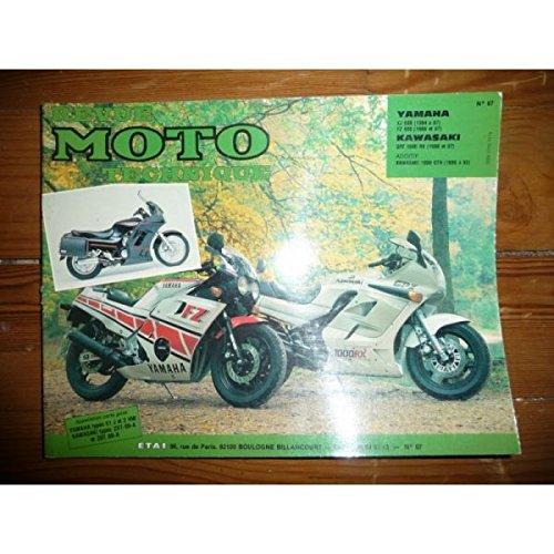RRMT0067.1 REVUE TECHNIQUE MOTO - YAMAHA XJ600,FZ600 - KAWASAKI GPZ1000RX par ETAI