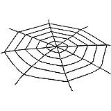 1,5 Meter Halloween weiß Super große Stretch Spinnennetz für Halloween Dekorationen Outdoor Yard - erschrecken Sie Ihre Nachbarn