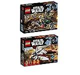 LEGO® Star Wars Set - 75182 Republic Fighter Tank + 75164 Rebel Trooper Battle Pack