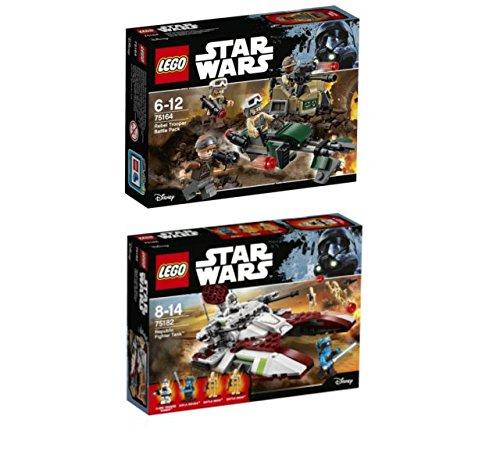 Preisvergleich Produktbild LEGO® Star Wars Set - 75182 Republic Fighter Tank + 75164 Rebel Trooper Battle Pack