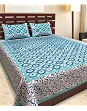 BedZone 100 Cotton Rajasthani Tradition King Size Double Be