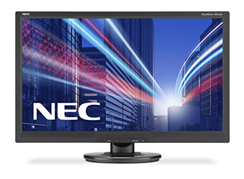 NEC AccuSync AS242W 24-Inch Monitor (Black) - (1000:1, 16:9, 300cd/m, 1920 x 1080, 5ms, VGA/DVI-D)