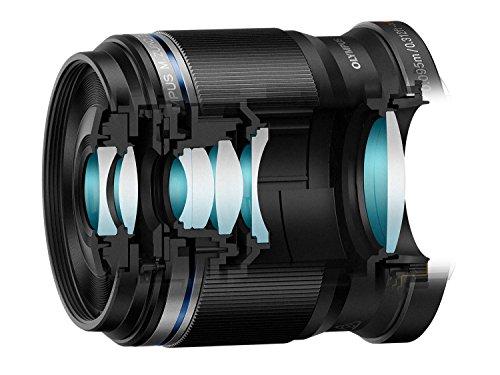 Get Olympus M.Zuiko Digital ED 30 mm 1:3.5 Macro Lens – Black on Amazon