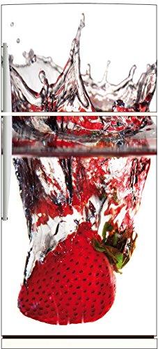 Magnet Kühlschrank Erdbeere Splatch OEM 521, 70x180cm (Erdbeer-kühlschrank-magnete)