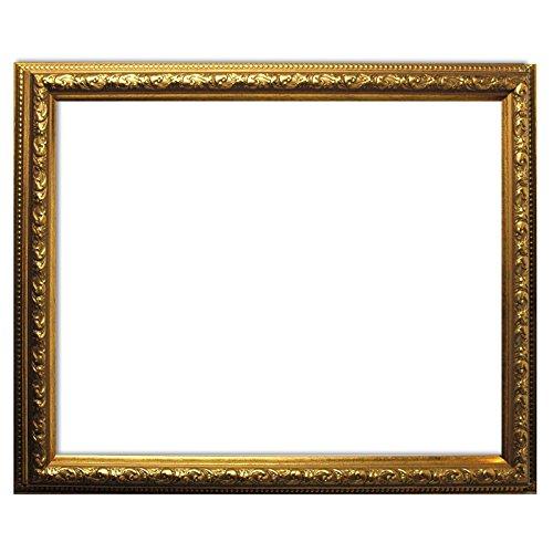 Baroque frame oro finemente decorato 812 ORO, cornice vuota 50x70 cm