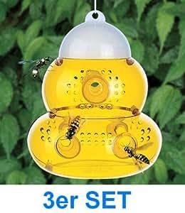 3 X Er Set Alss Grosse Insektenfalle Wespenfalle Fliegenfalle Mit 6 Eingängen