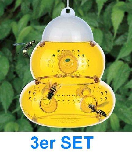*3 X Er Set Alss Grosse Insektenfalle Wespenfalle Fliegenfalle Mit 6 Eingängen*