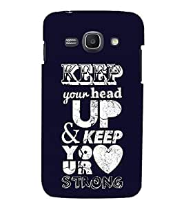Print Masti Designer Back Case Cover for Samsung Galaxy Ace 3 :: Samsung Galaxy Ace 3 S7272 Duos :: Samsung Galaxy Ace 3 3G S7270 :: Samsung Galaxy Ace 3 Lte S7275 (Keep Your Head Up Heart)