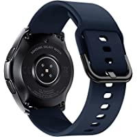 iBazal Bracelet Galaxy Watch 46mm Silicone 22mm Bandes Compatible avec Samsung Gear S3 Frontier Classic Band…