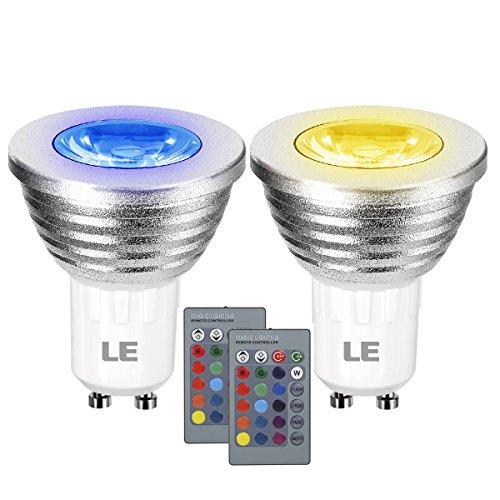 le-lot-de-2-ampoules-led-rgb-gu10-3w-reglable-mr16-multicolore-couleur-reglable-equivalent-a-ampoule