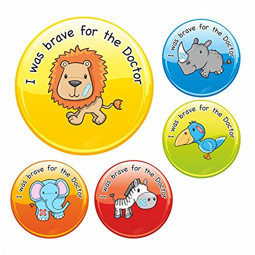 i-was-brave-for-the-doctor-safari-stickers