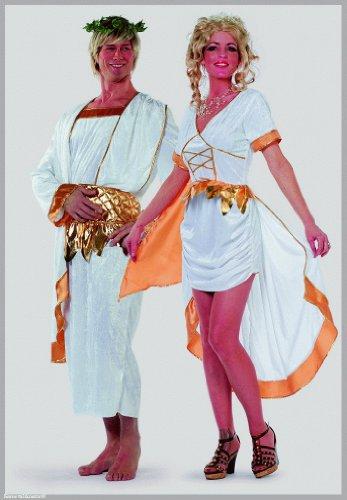 Venus Kostüm Göttin weiß-gold Gr. ()