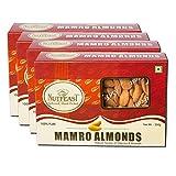 #6: Nutfeast - Mamro Almonds 1 KG (250g*4) - Best Quality / Wholesale Rates