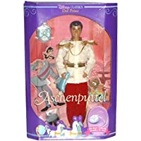 1991 Barbie Disney Classics Cinderella Prince Charming With Locket ~ NEW / RARE