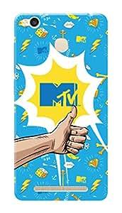 MTV Gone Case Mobile Cover for Xiaomi Redmi 3s Prime