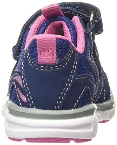 Superfit Lumis Mini, Baskets Basses Fille Bleu (water Kombi 88)