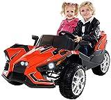 Actionbikes Motors Kinder Elektroauto GT Super Speed JC888 – 4x40 Watt Motor – 2-Sitzer - Eva Reifen – Allrad – Kinderauto (Rot)