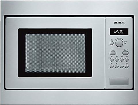 Siemens HF15M552 Four micro-ondes Inox Puissance 800 W / Capacité 17 l (Import Allemagne)