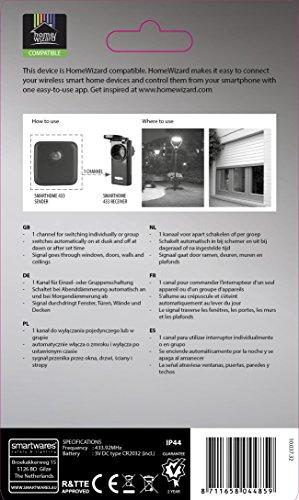 Smartwares SmartHome Funk-Lichtsensor für den Außenbereich, SH5-TSY-A - 3