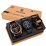 #8: Decode Analogue Multi-Colour Dial Boy'S And Men'S Watch-Combo Of 3 Exclusive Watches