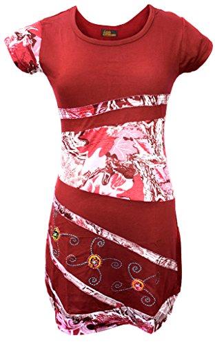en Baumwolle Rundhals Kleid Size 10 ()