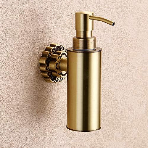 Estilo y función: Debido a su diseño elegante y atemporal, esta bomba de dispensador de jabón se adapta a todos los estilos de decoración, sino que también se puede utilizar en la cocina o en el baño de invitados.Fácil de limpiar: Con dispensador de ...