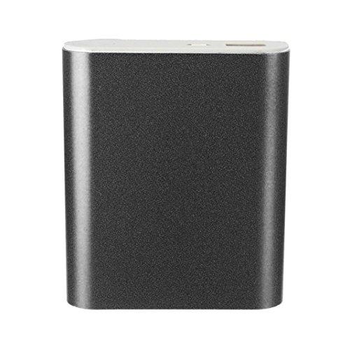 squarex 5V 1A USB 4x 18650Power Bank Akku Case Kit Ladegerät DIY Box für Smart Handy, schwarz (Diy Handy)