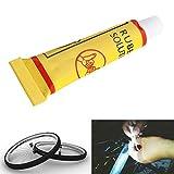 Forfar 2pcs / Set Fahrrad-Fahrrad-Reifen Rubber Patches Reparieren