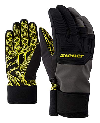 Ziener Erwachsene GARIM AS(R) Glove Alpine Ski-handschuhe/Wintersport, Wasserdicht, Atmungsaktiv, magnet, 8