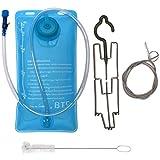 BTR Trinkblase 2L. BPA und Freies Trinkblase und Trinksystem mit Option für Reinigungs-Set