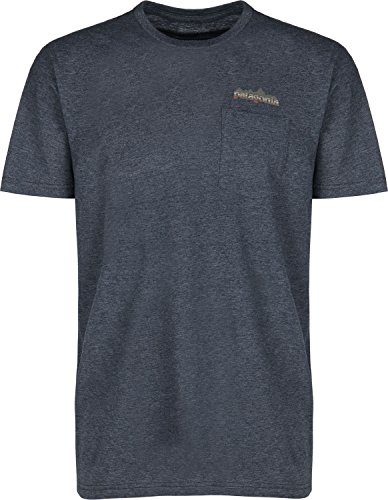 Patagonia Nightfall Fitz Roy T-Shirt Navy Blue