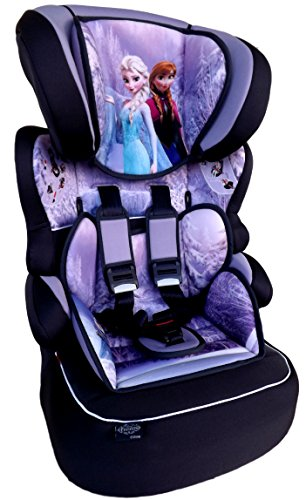 FROZEN Disney Beline LX Kindersitz KINDER AUTOSITZ BABY SITZ GRUPPE 1/2/3 9-36kg+GRATIS Auto Sticker&mini Haribo