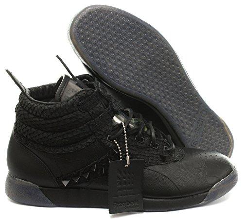 Reebok Classic F/S Hi Patrick Mohr Int Femme Baskets Sneakers Noir Black/Gravel