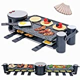 Best Raclette Grills - Swivel Raclette Grill for 8 Person - Indoor Review