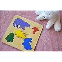 Hölzernes Puzzle spiel Baby Spielzeug Montessori pädagogisches Spielwaren Tier holz spielzeug Klein kind holz spielzeug Baby Geschenk organisches Spielzeug für Kinder Öko Spiel Babygeschenk Stapelendes Lern spielzeug jigsaw Puzzle Stapel Geduldspiel