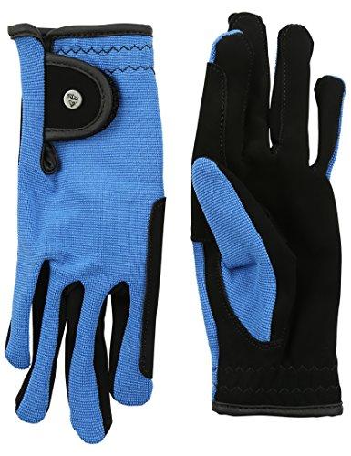 RTS Damen REIT Handschuhe, Royal Blau, XL
