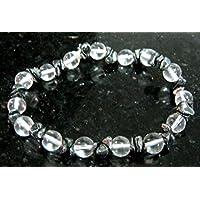 Hervorragende Bergkristall klar Hämatit Edelstein Perlen Stretch Armband Crystal Healing Herren Frauen Geschenk... preisvergleich bei billige-tabletten.eu
