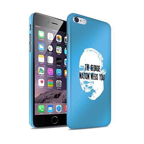 Offiziell Newcastle United FC Hülle / Glanz Snap-On Case für Apple iPhone 6S+/Plus / Pack 8pcs Muster / NUFC Rafa Benítez Kollektion Geordie Nation