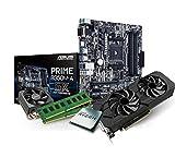 Kiebel Aufrüst-Bundle Ryzen: [182215] AMD Ryzen 7 1800X 8-Kern (8×3.6 GHz) | 16GB DDR4 | nVidia GeForce GTX1060 6GB GDDR5 | Sound + Gaming-LAN | ASUS | Aufrüst Set komplett vormontiert und getestet  Kiebel Aufrüst-Bundle Ryzen: [182215] AMD Ryzen 7 1800X 8-Kern (8×3.6 GHz) | 16GB DDR4 | nVidia GeForce GTX1060 6GB GDDR5 | Sound + Gaming-LAN | ASUS | Aufrüst Set komplett vormontiert und getestet 51jq6TxsGNL