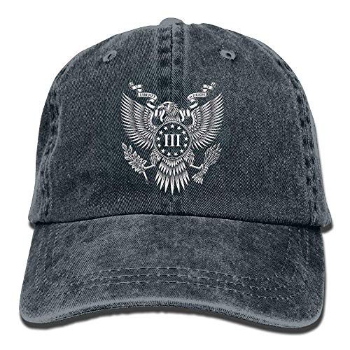 Adult Caesar's Legion Jeans Caps Retro Style Adjustable Hat Cool Style (Caesar Affe Kostüm)