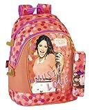 Disney Violetta - Mochila Grande y portatodo Redondo (SAFTA 611442585)