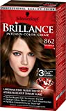 Brillance Intensiv-Color-Creme 862 Naturbraun, 3er Pack (3 x 143 ml)