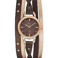 Go girl only 698578 - Reloj de pulsera mujer, piel, color marrón de Go Girl Only