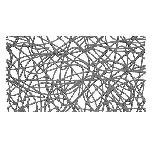 Carpemodo Wanneneinlage PVC 72x36 cm Grau