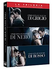 Idea Regalo - Cinquanta Sfumature (Trilogia) (Box 3 Dvd)