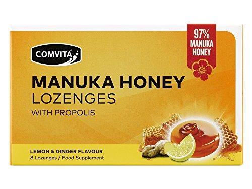 Zitrone & Ingwer Manuka Honig Lutschtabletten 8s