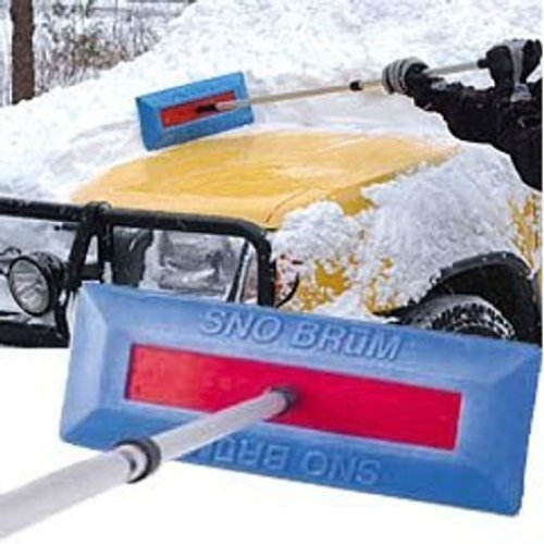 Sno Brum Original Snow Removal Tool with Telescoping Handle-1
