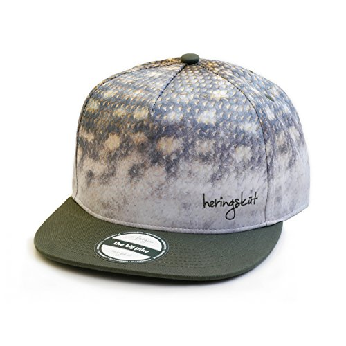 Heringsküt Snapback (Angeln, Kappe, Baseball Cap) (Big Pike)