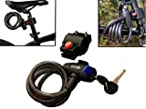 #8: WINTECH Lock For Bike Cycle Helmet And Luggage With Mounting Bracket